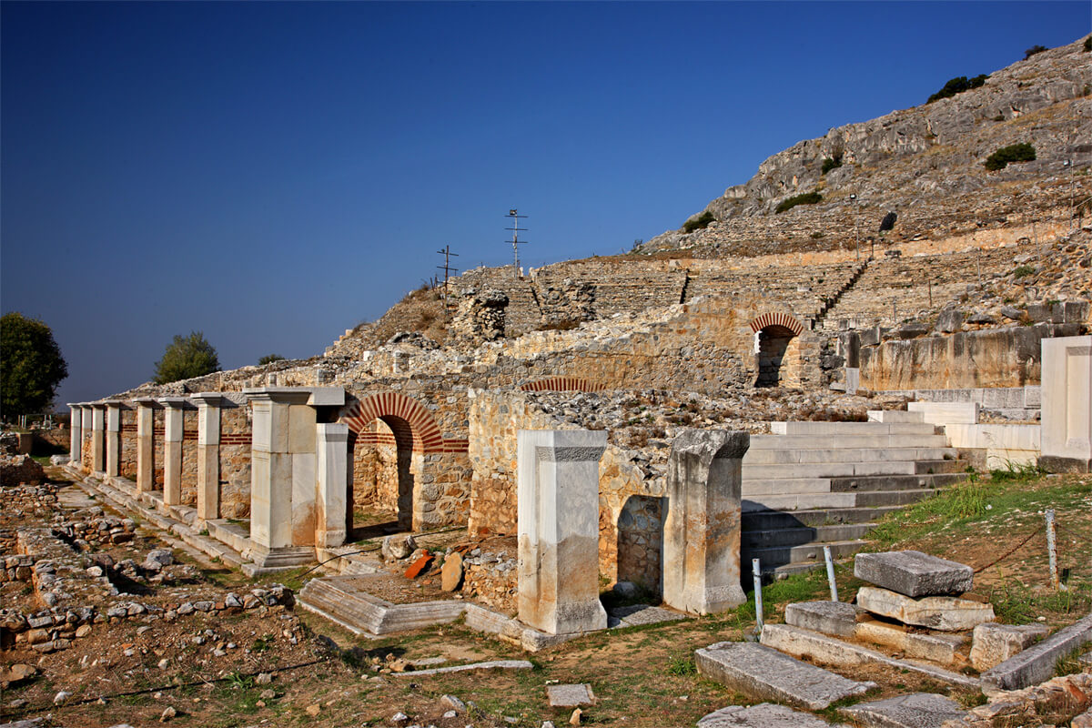 Αρχαιολογικός χώρος Φιλίππων - φωτογραφία Ηρακλής Μήλας