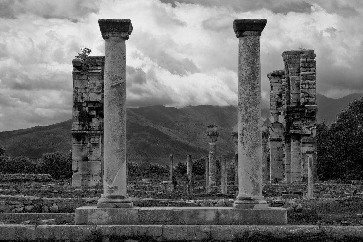Αρχαιολογικός χώρος Φιλίππων - φωτογραφία αρχείο Δημωφέλεια