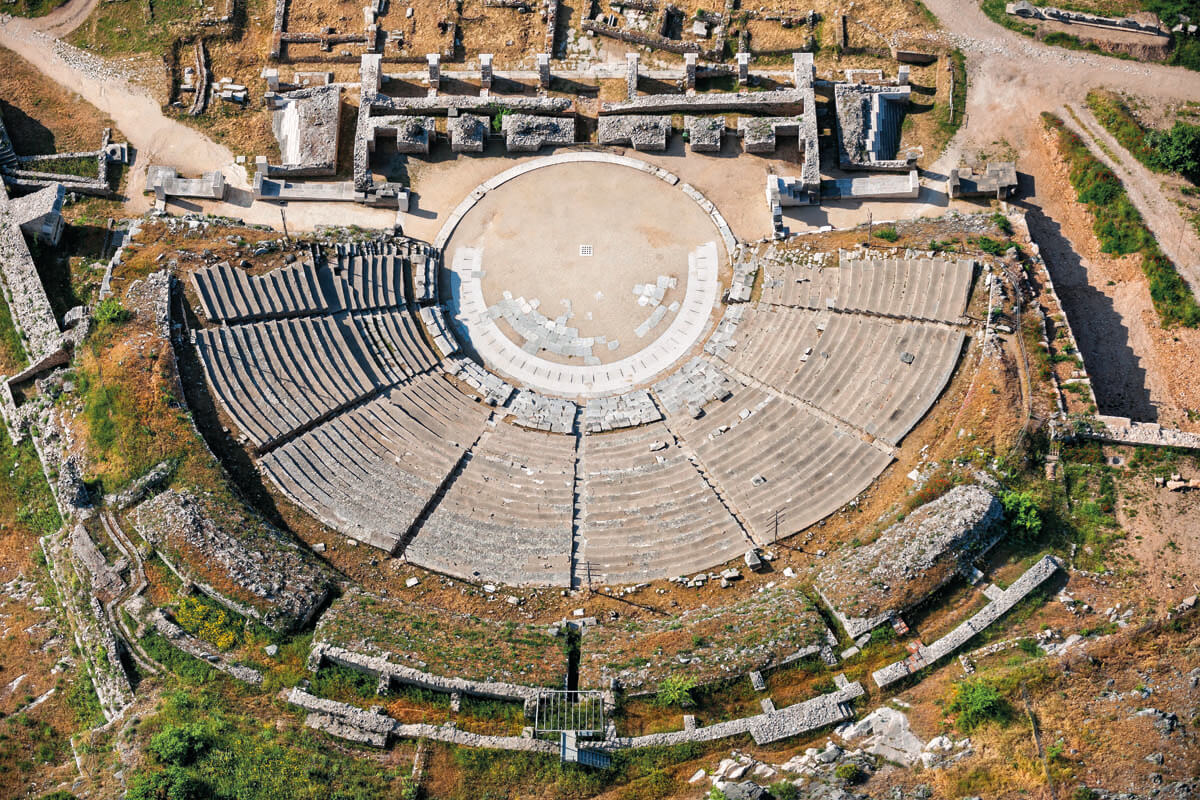 Ancient Theatre of Philippi - Photo by Iraklis Milas
