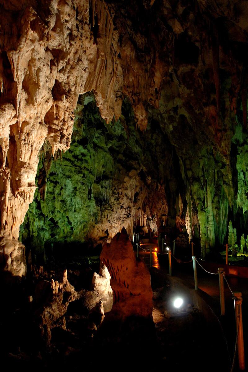 Alistrati cave - Photo from Serres P.E Tourism's Office archive