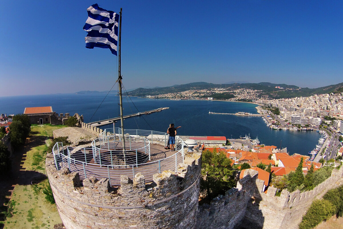 View from the Fortress of Kavala - Photo by Artware