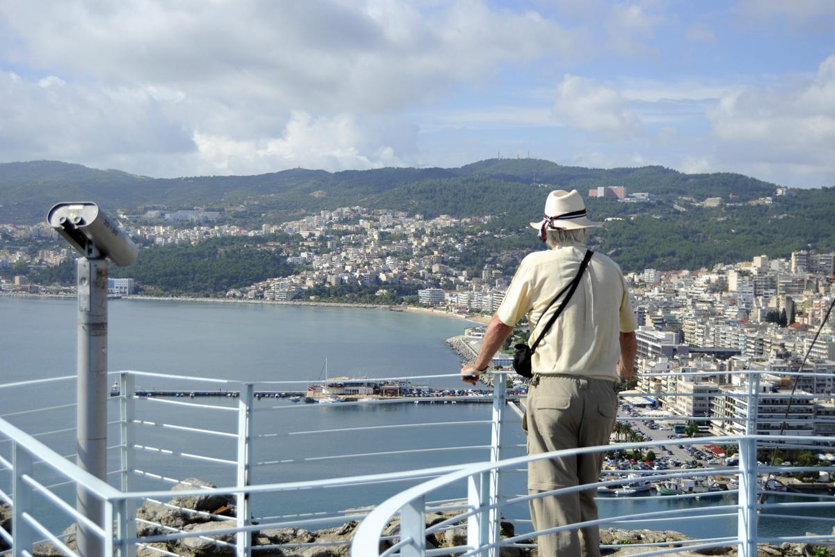 Θέα από τον κυκλικό πύργο - φωτογραφία Ντίνος Θωμαδάκης