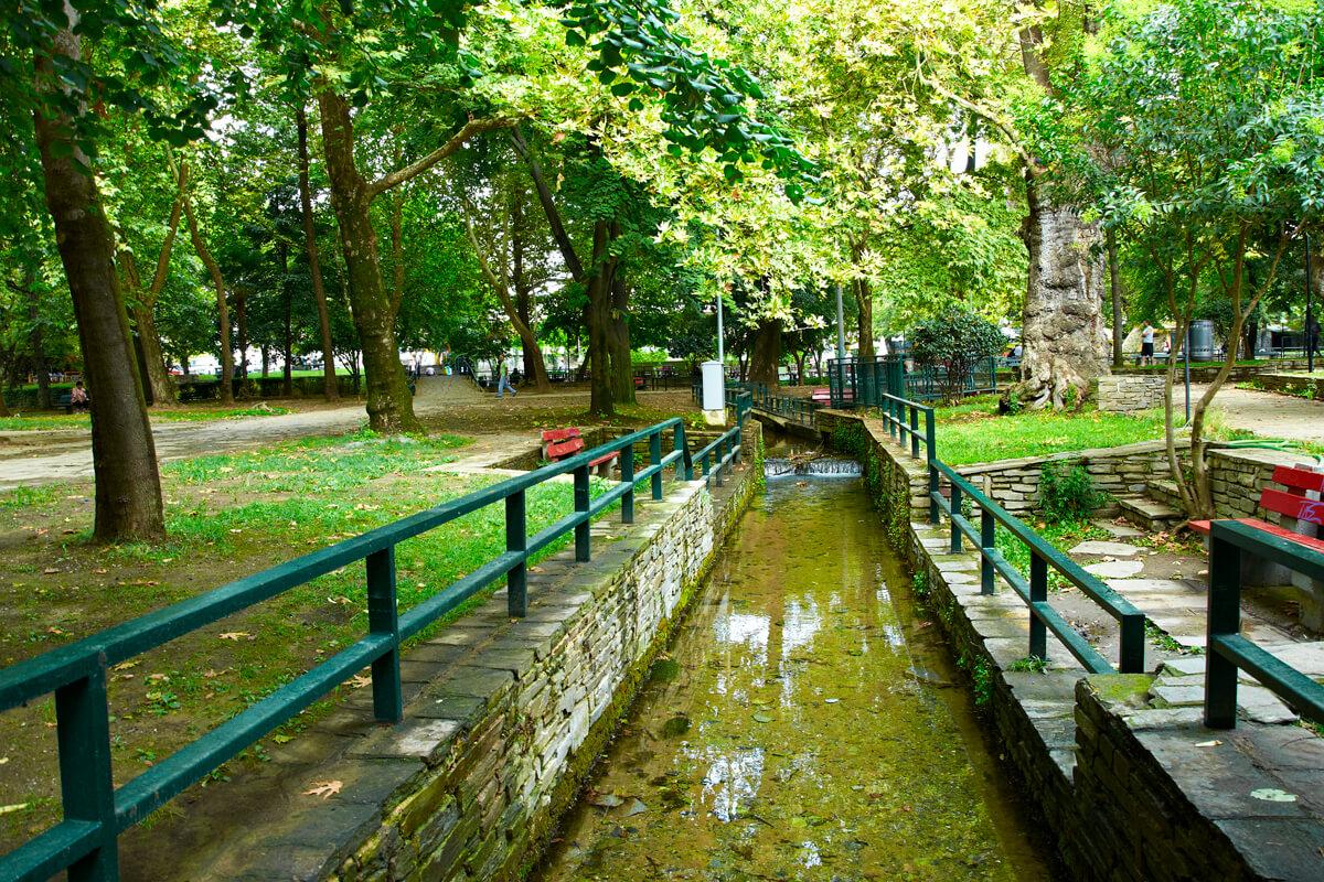 Муниципальный парк в Драме, Фотография из архива РО Драмы