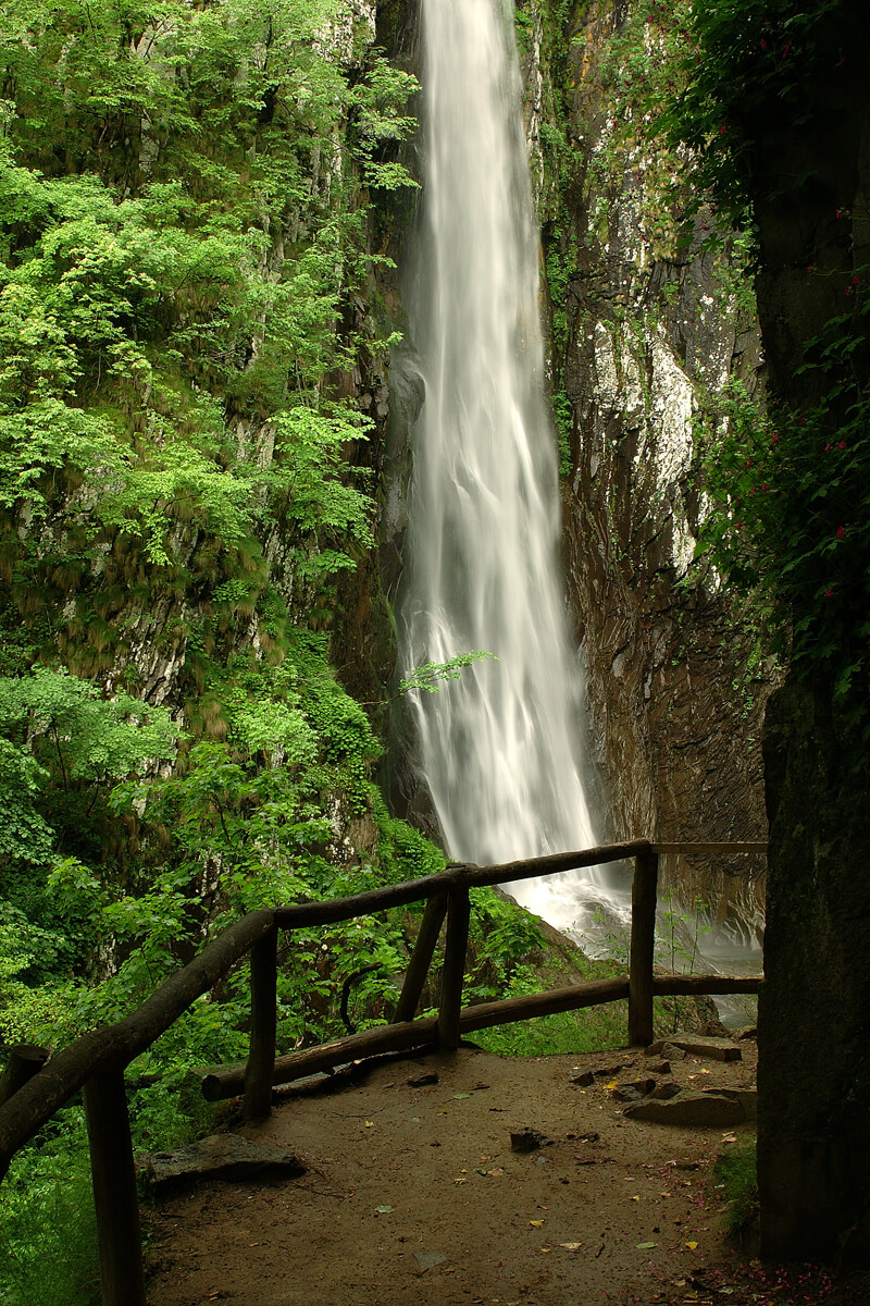 Водопад Трахониу-Ливадити, Фотография из архива РО Драмы