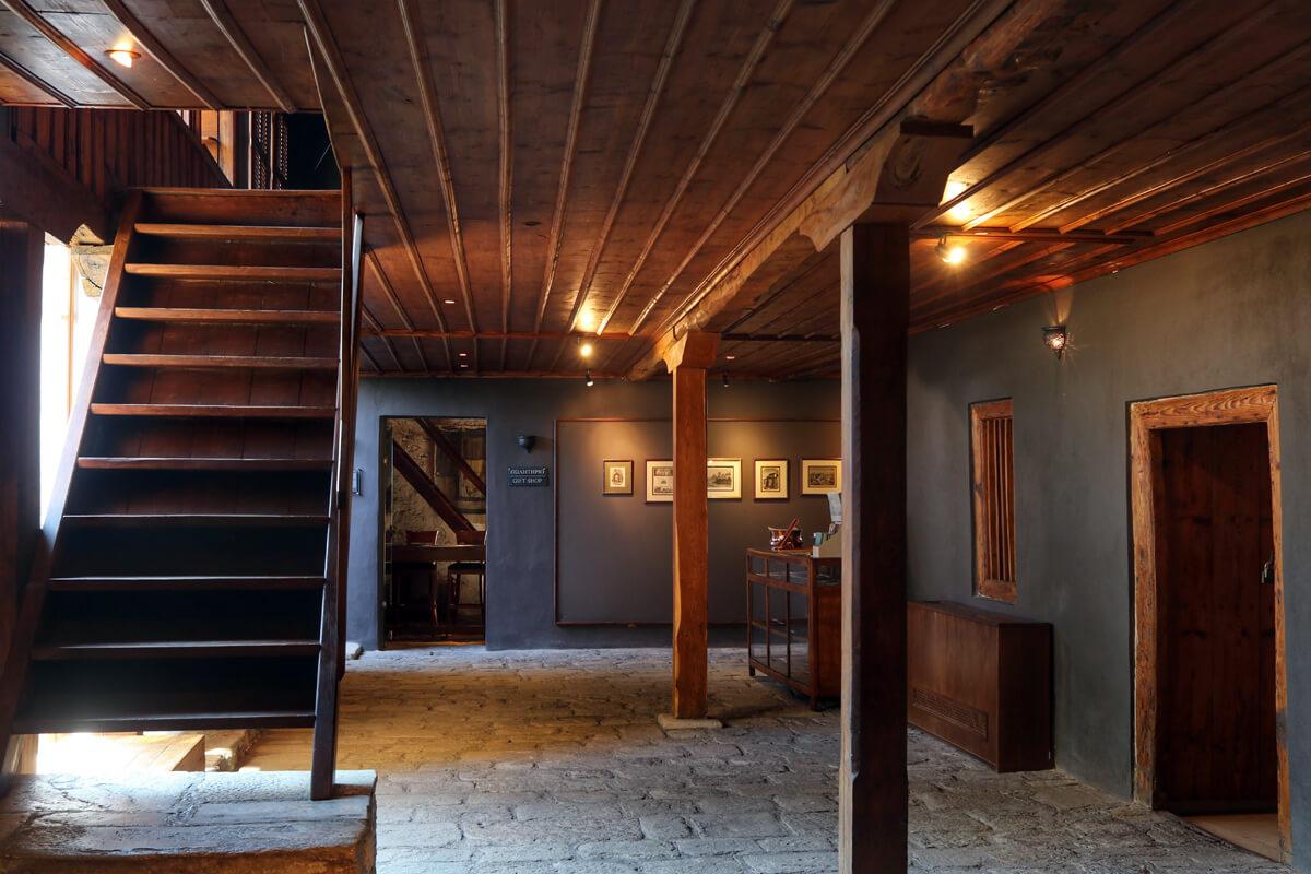 Εσωτερικό οικίας Μωχάμετ Άλη Ερευνητικό Κέντρο MOHA - φωτογραφία αρχείο Ιμαρέτ