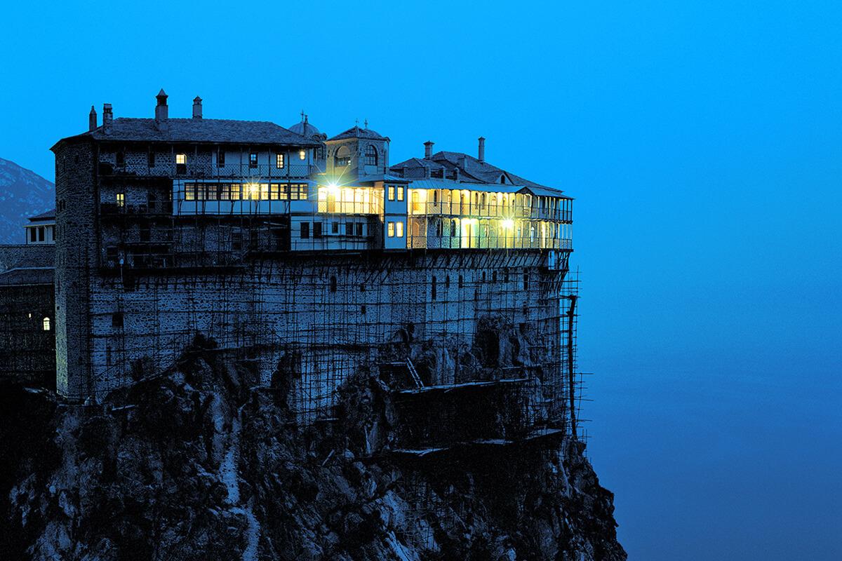Άγιο Όρος - Φωτογραφία Στράτος Καλαφάτης