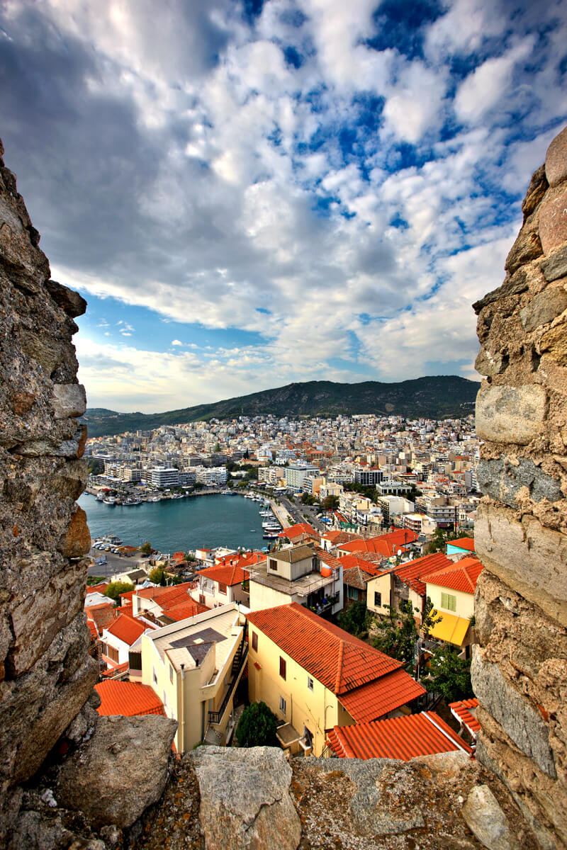 Panoramic view of Kavala Fortress - Photo by Artware