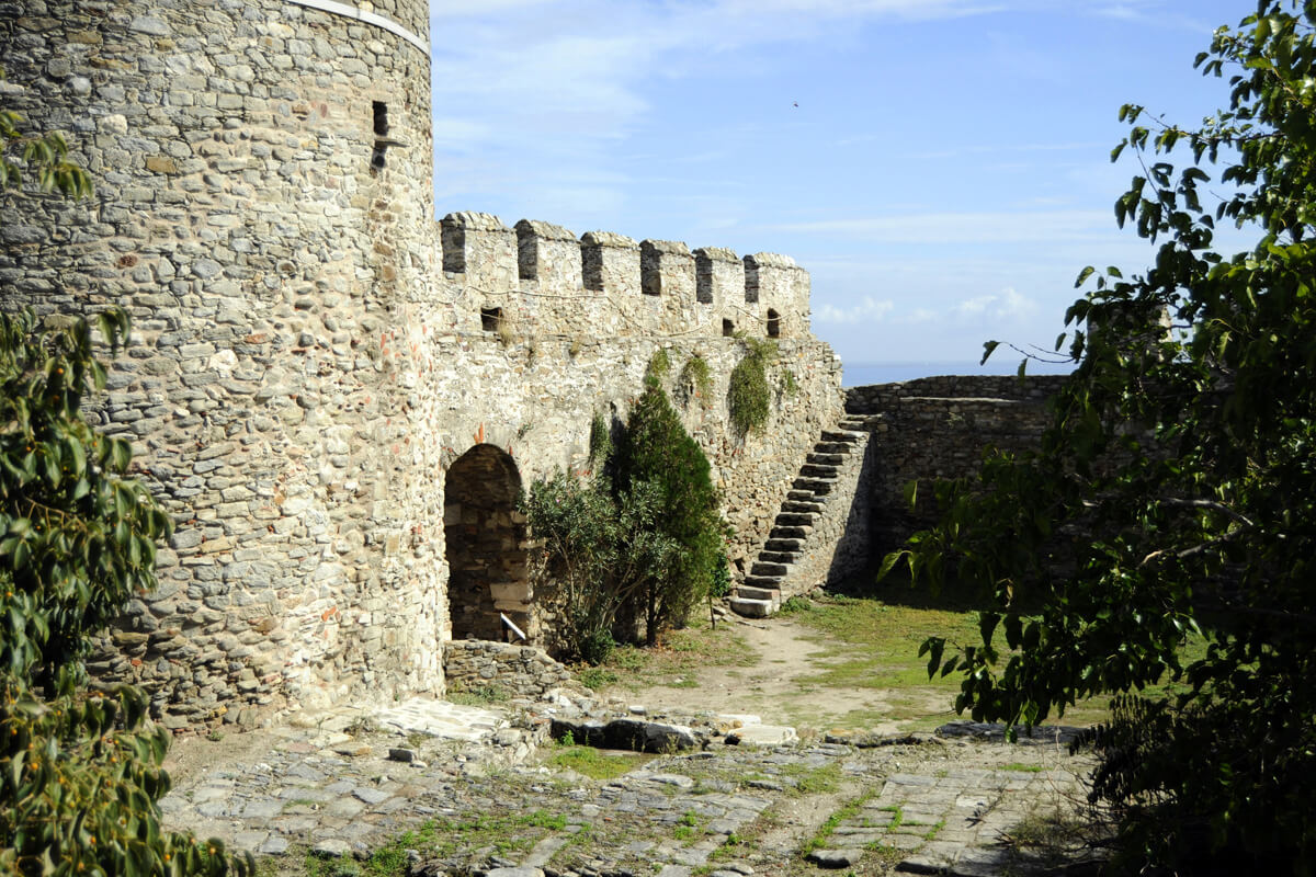 Interior precinct of the Fortress - Photo by Ntinos Thomadakis