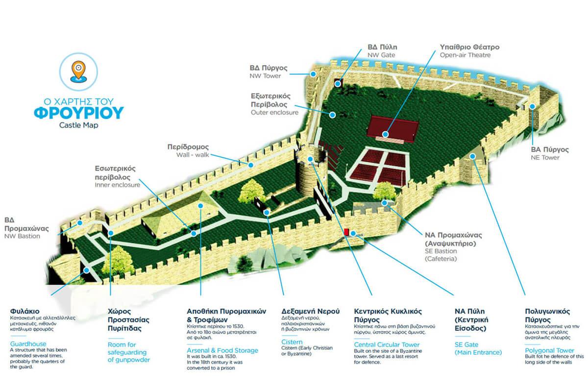 Ο χάρτης του φρουρίου