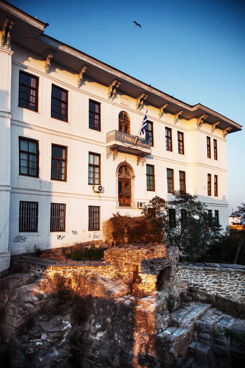 1. Gymnasium von Kavala (Πρώην Αρρένων) -Foto von Antonis Pasvantis