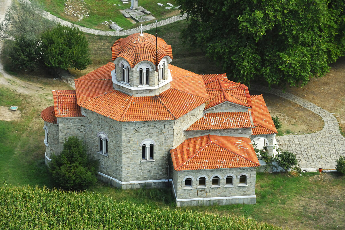 Ιερό Βαπτιστήριο Αγίας Λυδίας της Φιλιππησίας - Φωτογραφία Artware