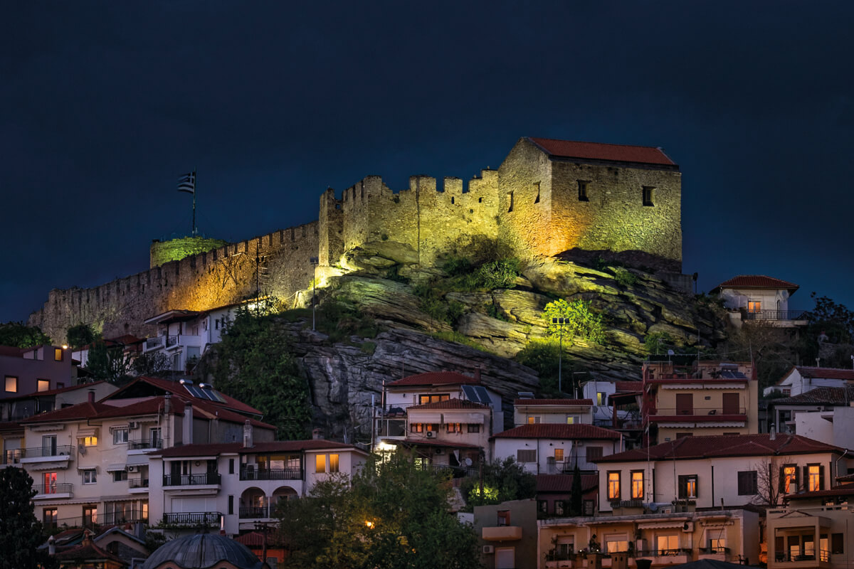 The Fortress of Kavala - Photo by Giannis Giannelos