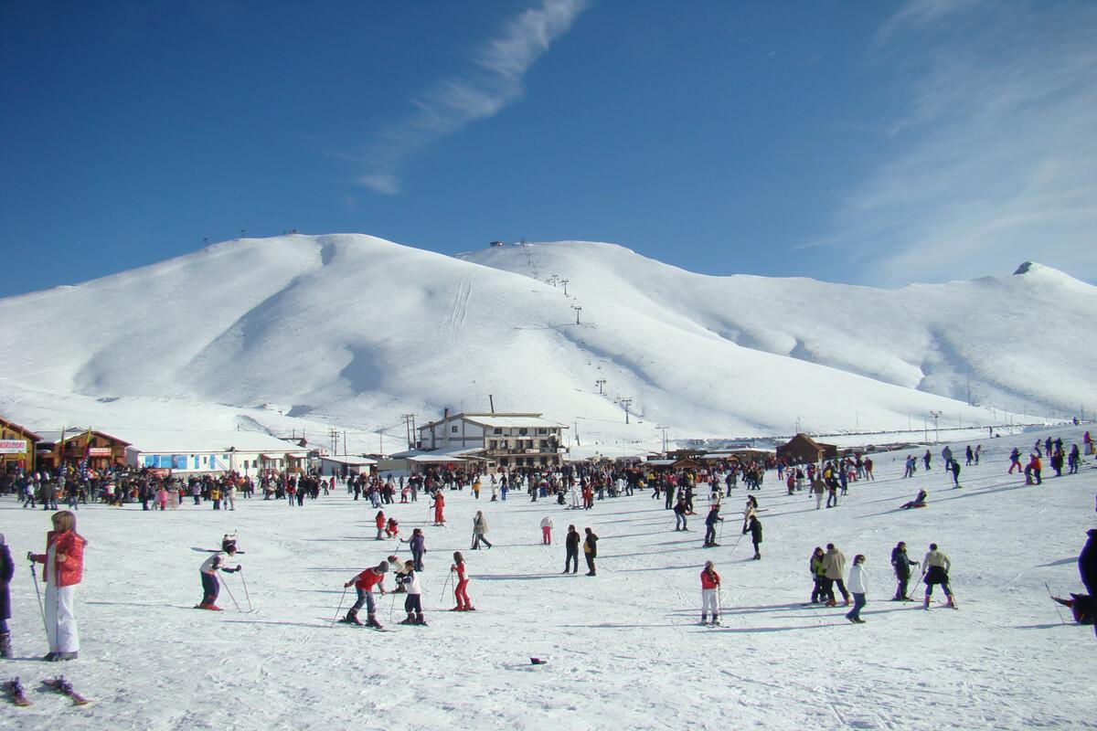 Горно-лыжный центр на горе Фалакро, Фотография из архива РО Драмы