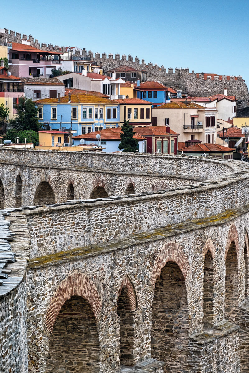 The Old Aqueduct Kamares - Photo by Giannis Giannelos
