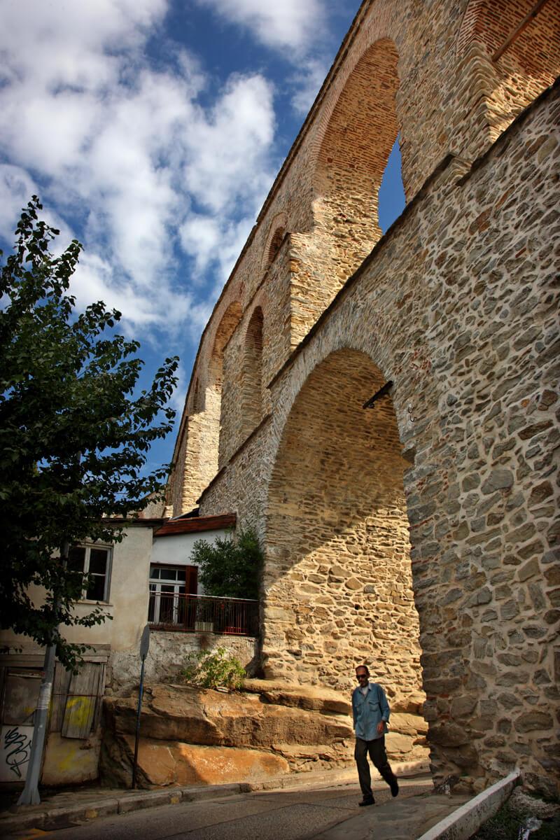 The Old Aqueduct Kamares - Photo by Iraklis Milas