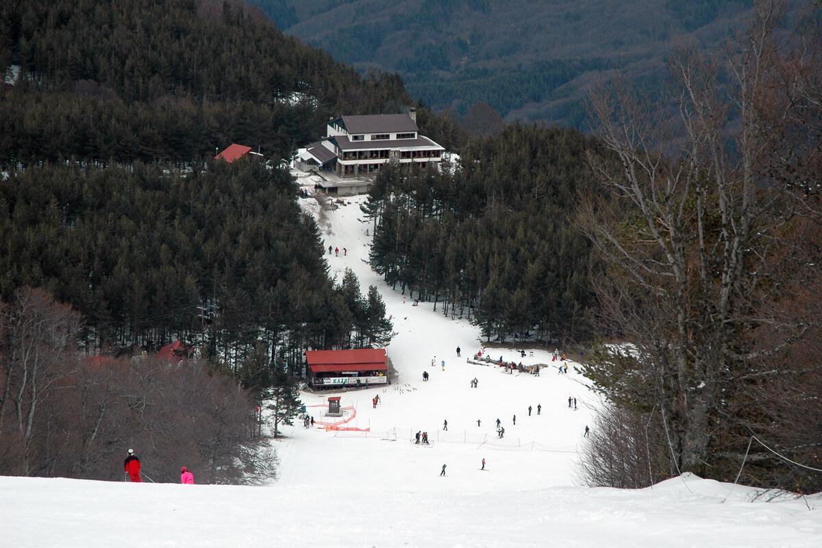 Lailia Ski Center - Photo from Serres P.E Tourism's Office archive