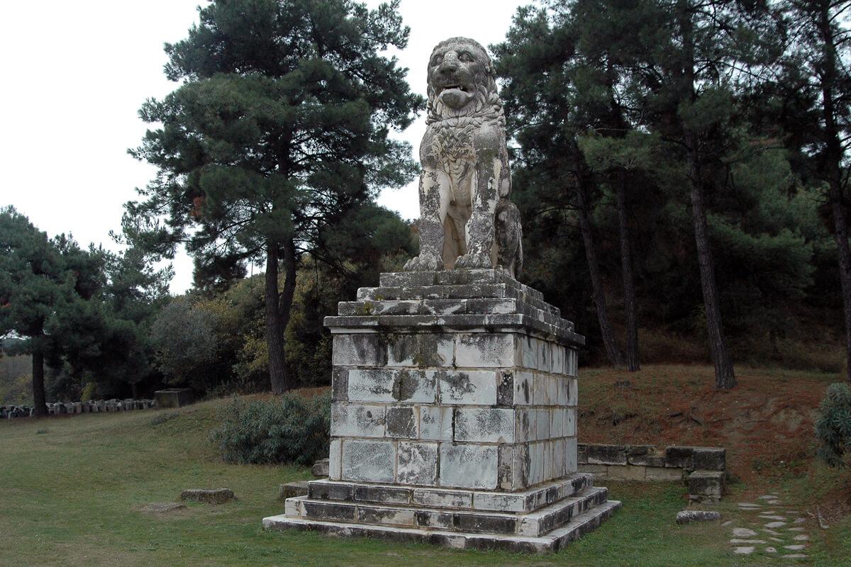 Λιοντάρι Αμφίπολης - φωτογραφία αρχείο Γραφείου Τουρισμού της ΠΕ Σερρών