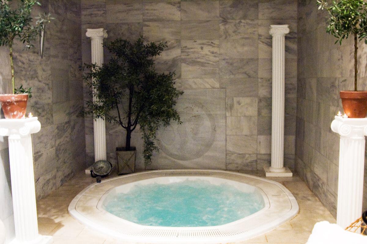 Thermal Baths of Sidirokastro- Photo from Serres P.E Tourism's Office archive