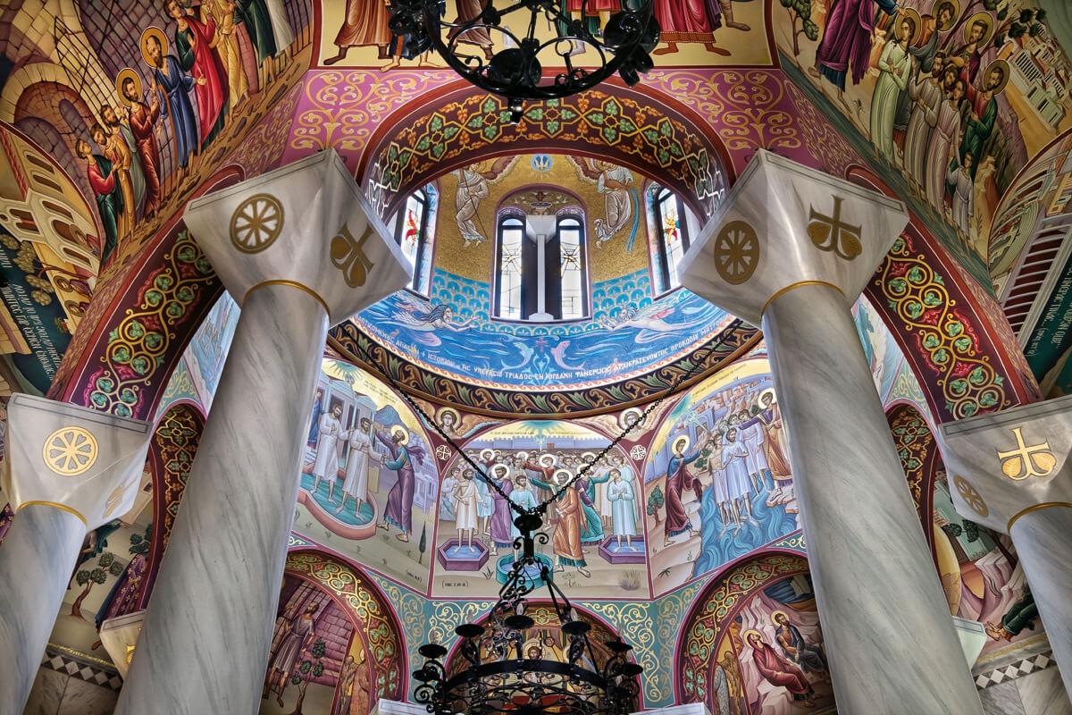 Священный Баптистерий Святой Лидии Филиппийской, фотография Яниса Янелоса