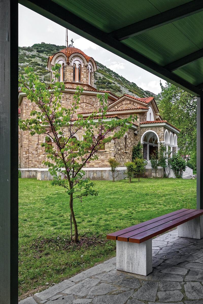 Ιερό Βαπτιστήριο Αγίας Λυδίας της Φιλιππησίας - φωτογραφία Γιάννης Γιαννέλος