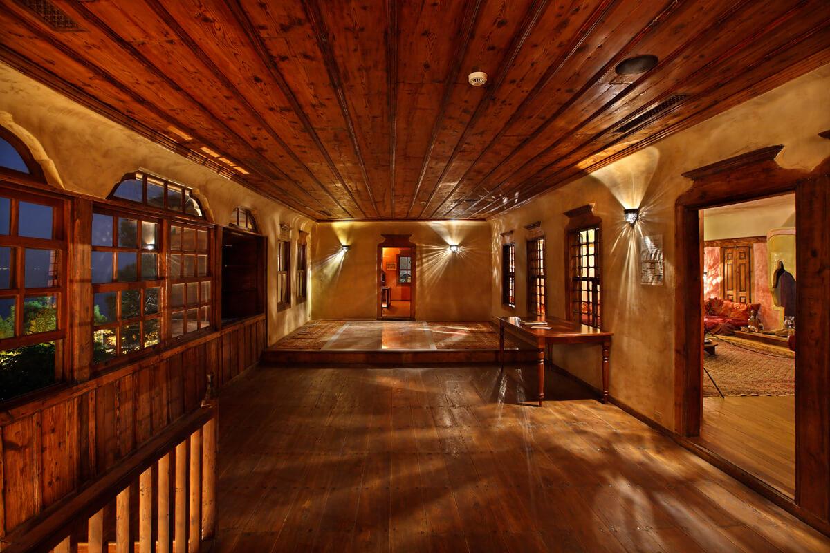 Εσωτερικό οικίας Μωχάμετ Άλη - φωτογραφία Ηρακλής Μήλας