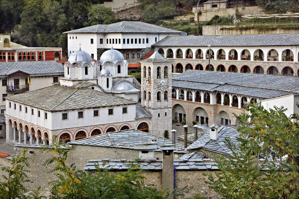 Μοναστήρι Εικοσιφοινίσσης - Φωτογραφία Ηρακλής Μήλας