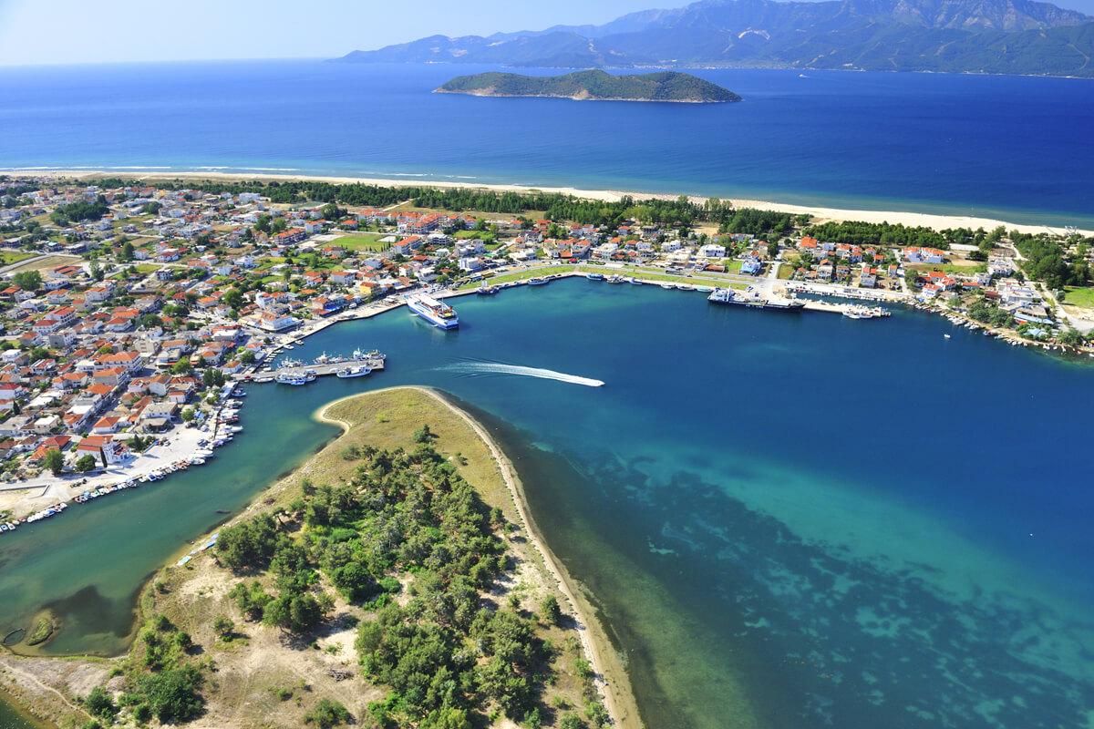 Port of Keramoti - Photo by Artware
