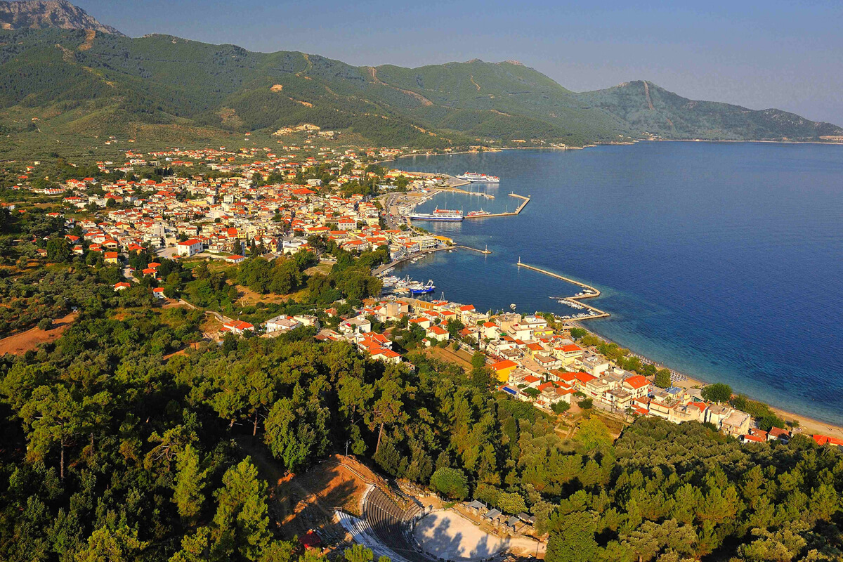 Limenas in Thassos - Photo by Artware