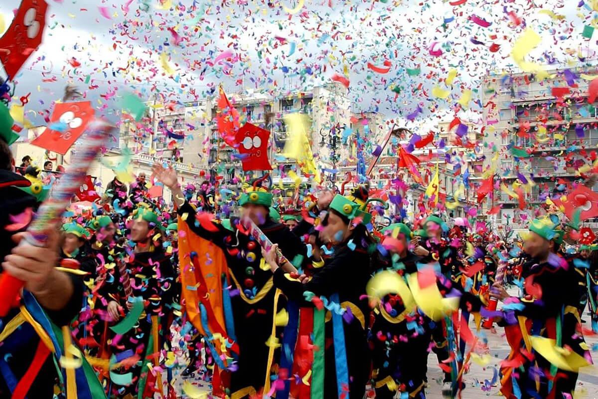 Карнавал в Ксанти, фотография ktelxanthis.gr