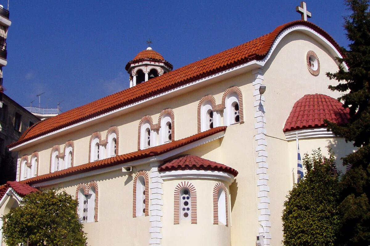 Church of Agios Georgios - Photo from Dimofelia's archive