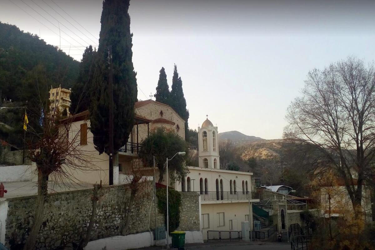 Church of Agios Athanasios - Photo from Dimofelia's archive