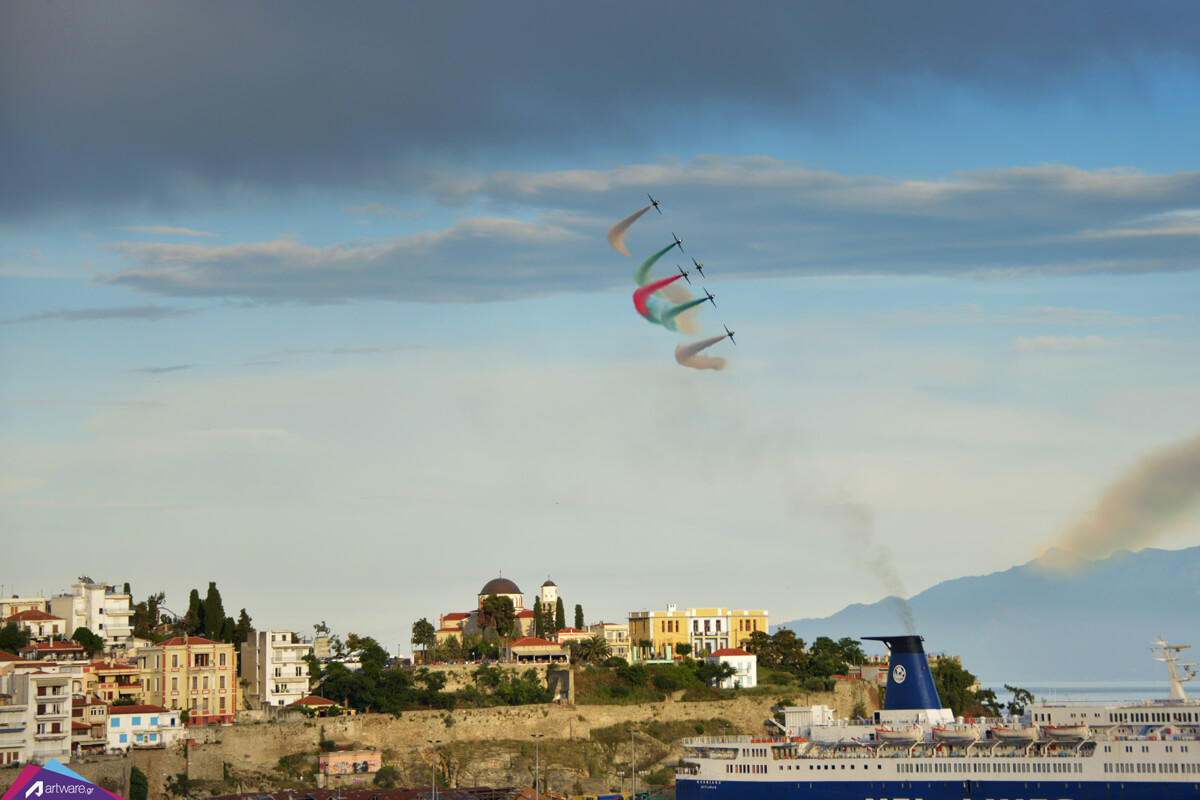 Kavala AirSea Show - Photo by Artware