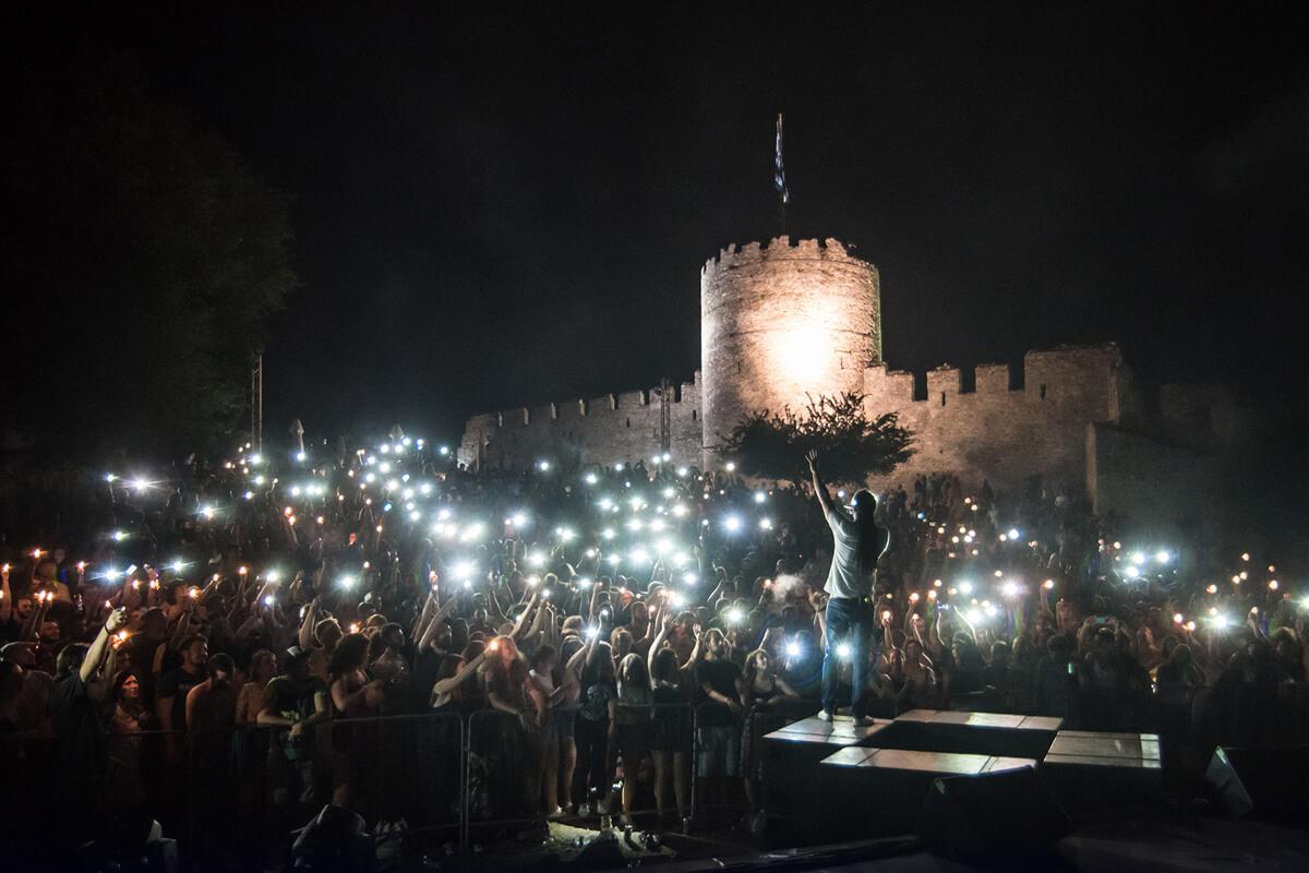 Dub Inc στο φρούριο Καβάλας - φωτογραφία Γιάννης Μαγδαλασίδης