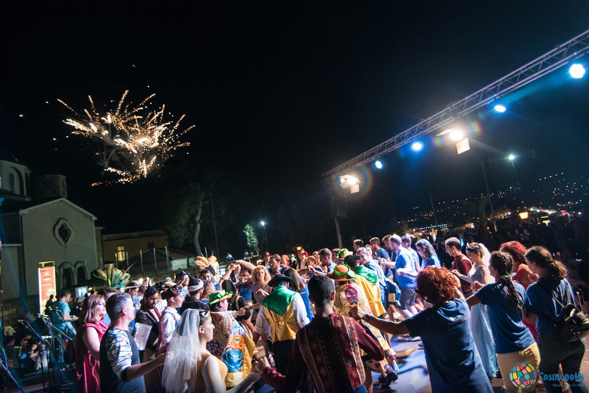 Cosmopolis closing ceremony - Photo by Giannis Magdalasidis