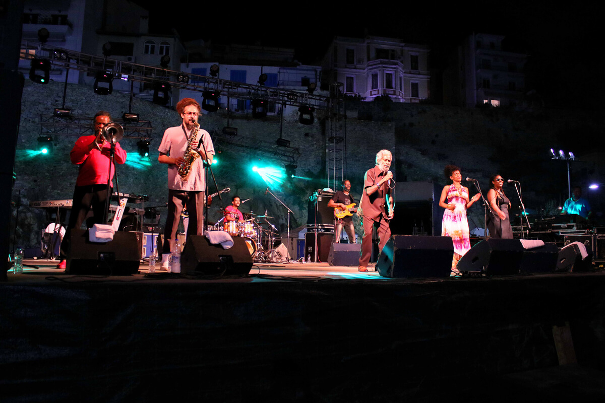 Max Romeo στο Cosmopolis festival - Φωτογραφία Χάρης Ιορδανίδης