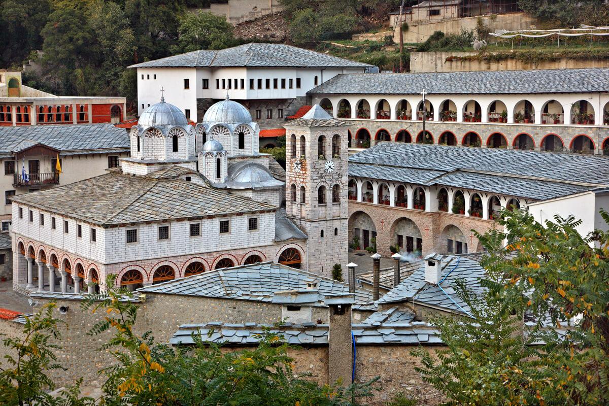 Monastery of Panagia Ikosafinissas - Photo by Iraklis Milas