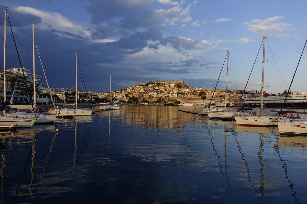 Λιμάνι Καβάλας - Φωτογραφία Artware