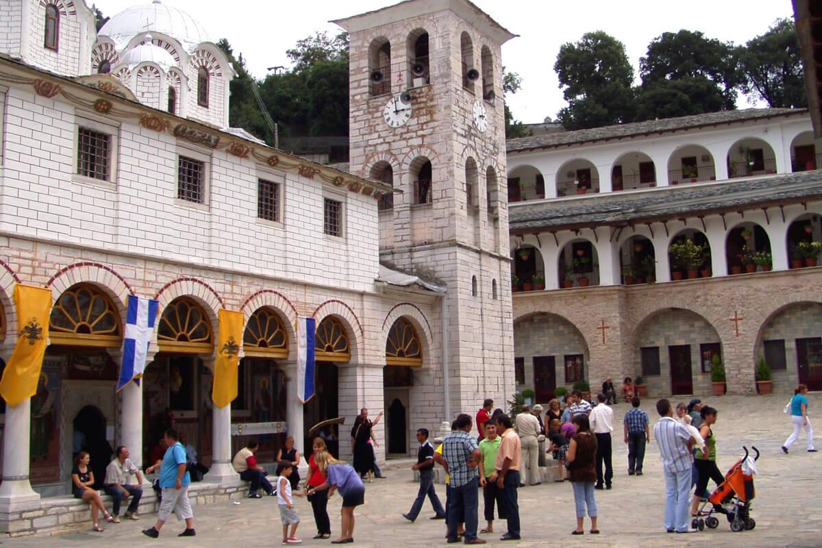 Kloster von Ikosifinissa-Fotoarchiv von Dimofelia