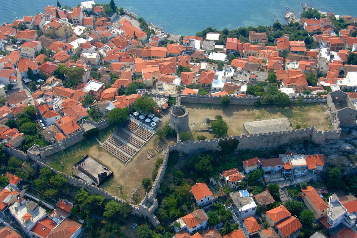 Το φρούριο Καβάλας - φωτογραφία Αχιλλέας Σαββόπουλος