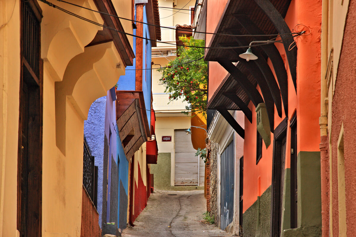 Σοκάκι στην παλιά πόλη - φωτογραφία Ηρακλής Μήλας