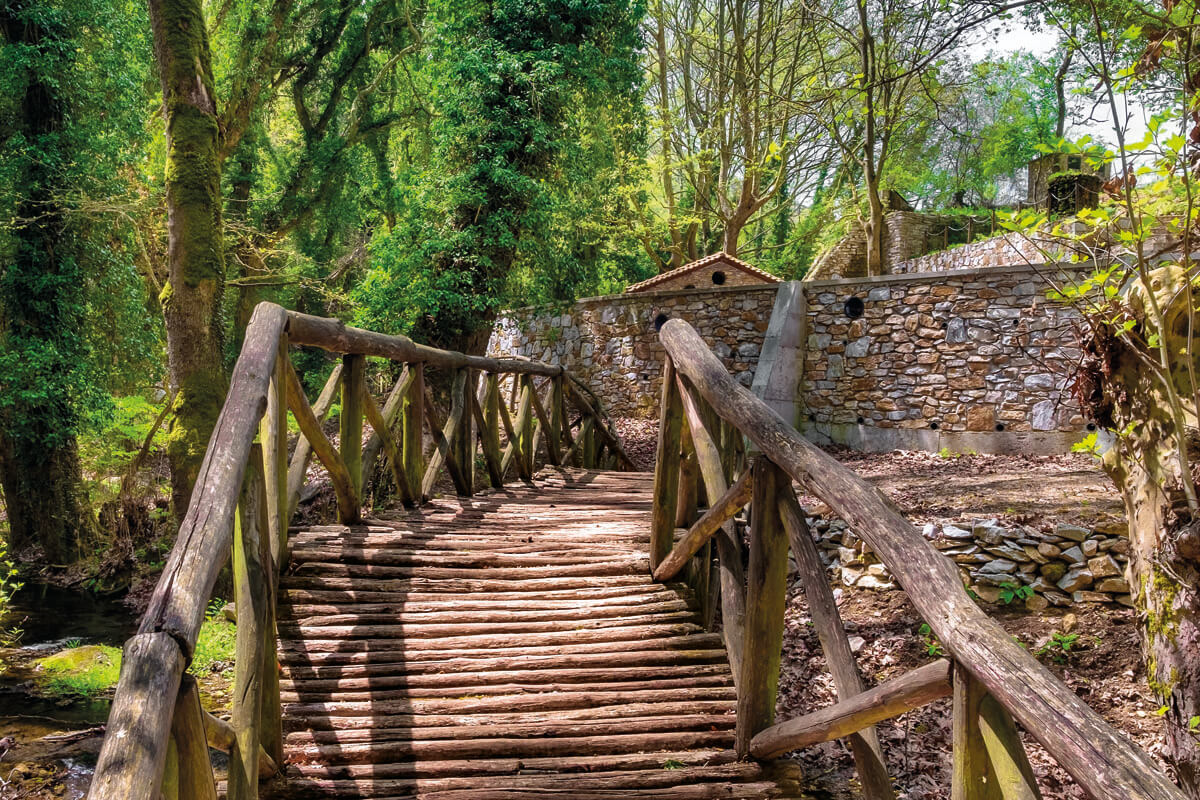 Экологический маршрут к деревушке Палиа Кавала, фотография Яниса Янелоса
