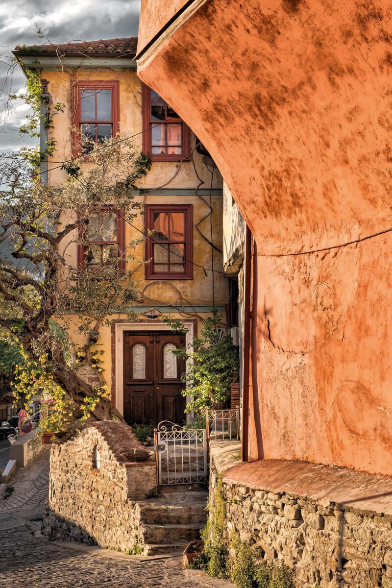 Σπίτια στην Παναγία - φωτογραφία Γιάννης Γιαννέλος