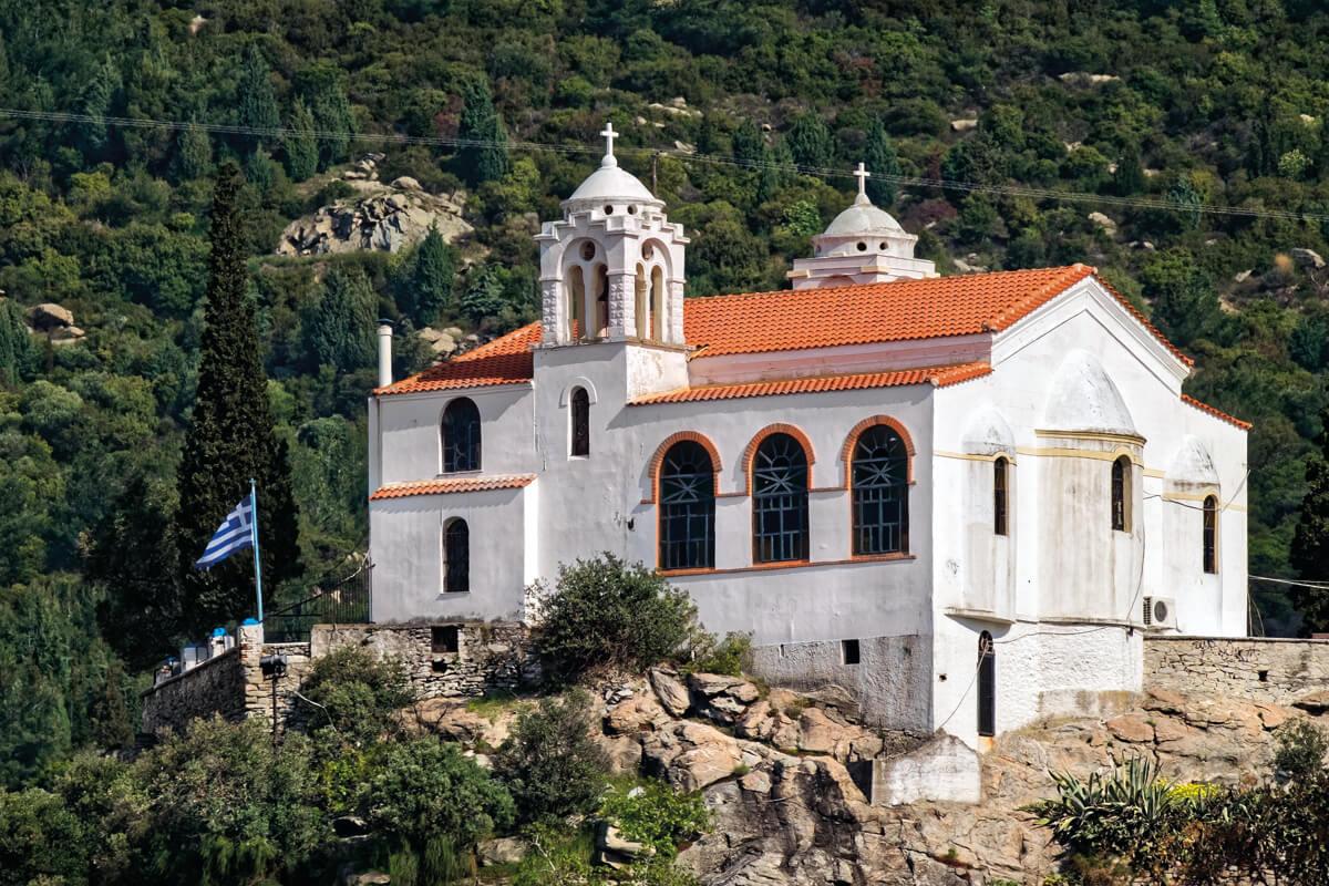 Church of Profitis Ilias - Photo by Giannis Giannelos