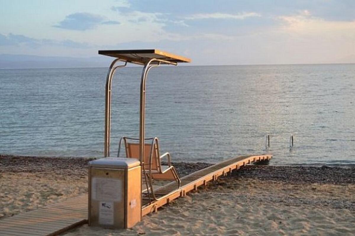 Παραλία Καλαμίτσας - φωτογραφία αρχείο Δημωφέλεια