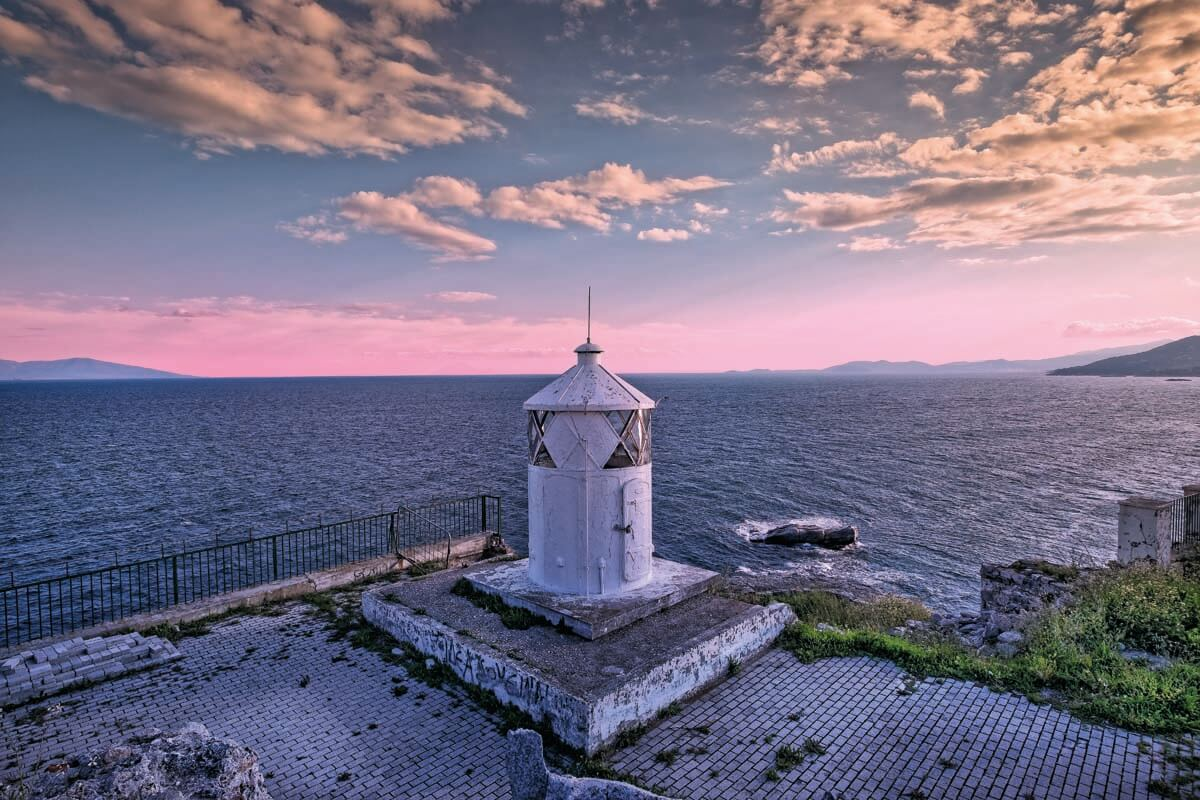 Lighthouse at Panagia area - Photo by Giannis Giannelos