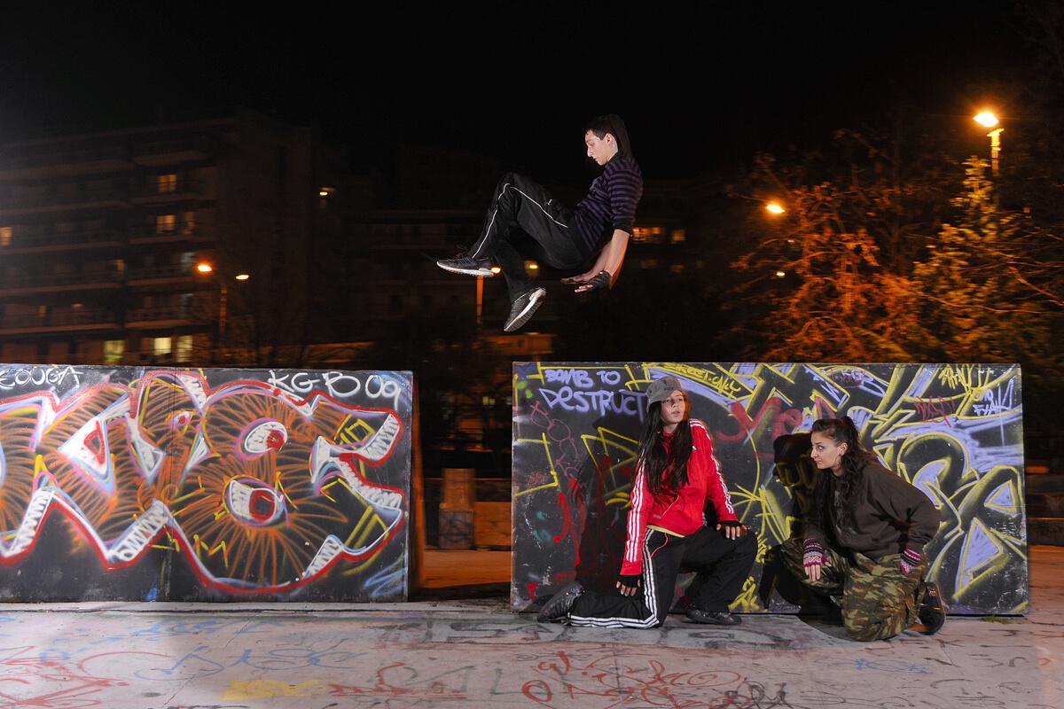 Skate park στο πάρκο Φαλήρου - Φωτογραφία Artware