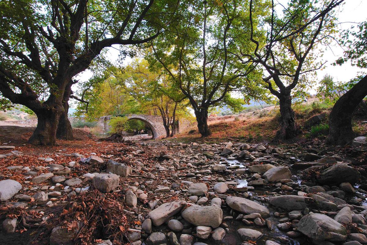Каменный мост деревни Левки, фотография Artware