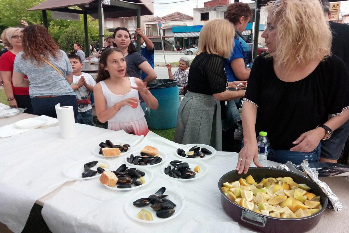 Γιορτή μυδιού και σαρδέλας - φωτογραφία αρχείο Δήμος Νέστου