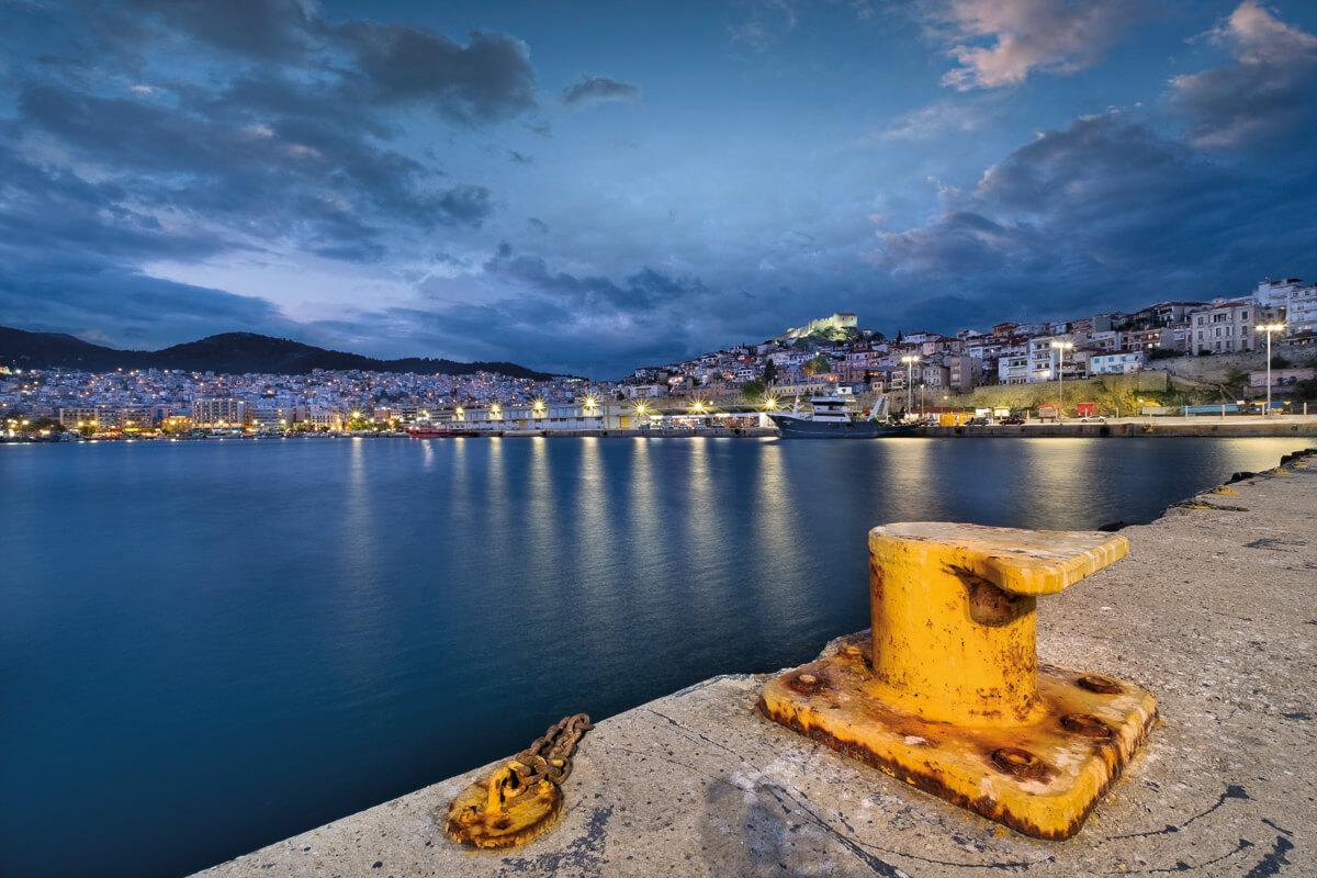 The port of Kavala - Photo by Giannis Gianelos