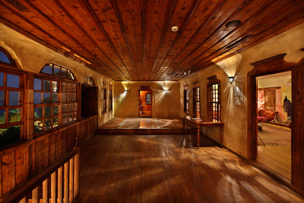 Внутренняя территория дома Мохамета Али, фотография Ираклиса Миласа